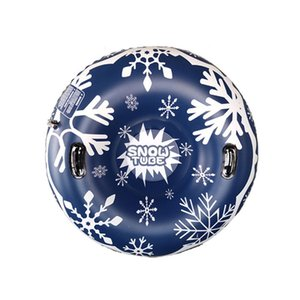 Schwimmdock Platte 47 Zoll Umweltschutz PVC aufblasbarer Schnee Ring Ski Ring erwachsene Kinder im Freien Spielzeugauto 30dc13