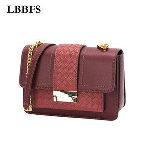 LBBFS Модные кошельки и сумочки Роскошный дизайнер для женщин вязание Crossbody Bag Packer Closs Высококачественная сумка на плечо