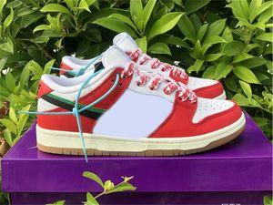 2020 quadro skate x sb dunk habibi baixo skates sapatos homens mulheres chile vermelho branco afortunado verde preto sneakers autênticos ct2550-600 com caixa