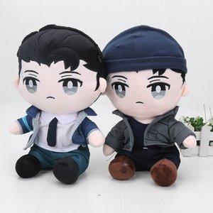 28cm Detroit Become Human Connor Plush Toy Children Stuffed Soft plush Doll 201021