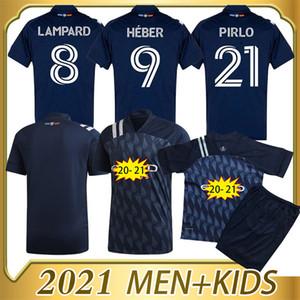 2021 New York City FC Qualität Fussball Trikots Lampard Pirlo 20 21 Home Erwachsene + Kinder Kit Fußball Shir