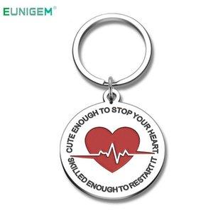 Funny Keychain Gifts for Women Men Nurses Prayer Stethoscope Charms Nurses Graduation Gift for Students Key Ring