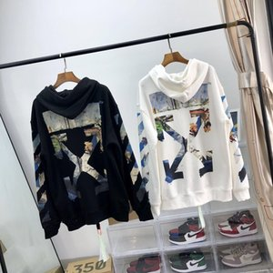 IO1QN Hoodie beyaz sokak modası ceket Hoodie yağı şimdi kazak moda marka erkek ve br aynı ceket doDsx boyama kadınların yağ boyama