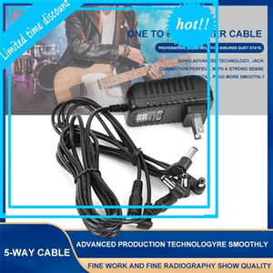 5 Manner AC100V-240V Electric Feeding Adapter Us Eu Uk Plug 9V 1A Charger cable For guitar Parts effect Pedal
