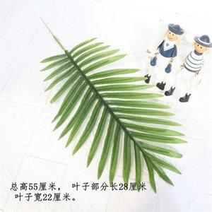 Green Willow Leaf Simulation Свадебный праздник Статьи Листва Ботаническая стена Украсьте черепаху Спинной листьев Горячие продажи 4 мм P1