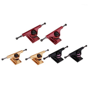 5 pollici in lega di alluminio Longboard Skateboard Trucks Resistenza agli urti Standard 5 'Skateboard Trucks Sostituzione1