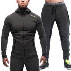 Мужские толстовки Бодибилдинг Gym Workout рубашки с капюшоном Спортивные костюмы Спортивный костюм Мужчины Chandal Hombre Gorilla одежда для животных