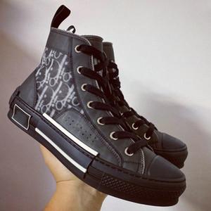 20SS 19SS Fleurs technique Toile B23 B24 Haut Baskets montantes en Oblique Hommes Marque B23 Designer Shoes Sneakers Mode