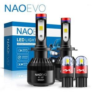 NAOEVO H4 LED H7 W5W H11 4 H8 3 Fog Light H9 H3 Car Headlight Blub H13 9008 H11B 12V 9007 9006 9005 9004 9012 Hir2 Turbo Fan1