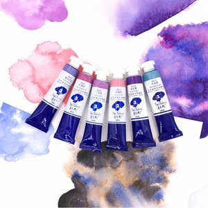 Rubens Gouache Paint New Color Watercolor Paint Special Color Layered Moon Aquarelle Royal Purple Master Level 18ml Tubular WNjq#