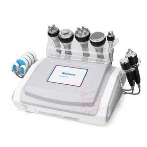 9 Dans 1 multifonction RF Ati Cellulite Massage du corps Cavitation vide machine appareil amincissant peau Équipement de blanchiment