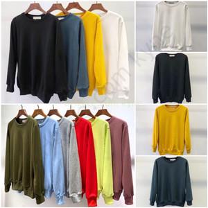 EU размер S-2XL мужские моды дизайнер футболки осень зима мужчин с длинным рукавом капюшон хип-хоп кофты повседневные одежды свитер # 811 # 8104