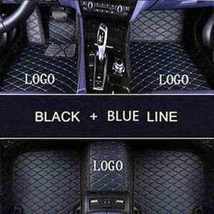 For Mercedes-Benz C-Cla 2010-2020 waterproof Car floor Luxury tailored right or left hand drive non-slip non-toxic car mats 4 door or 2 door