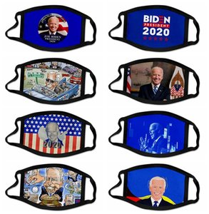 Biden Joe Mask Windproof Print American 3D 2020 Masks Jahi Semj Face Biden Election Cotton Adult GG Party Mouth Masks 14styles Children Whsa