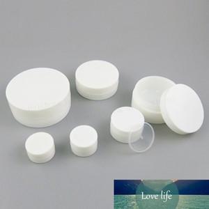 50 X 30g 50g 100g 120g Svuotare brillante Bianco Cream Pot vaso 1 oz 4 oz ricaricabile contenitore cosmetico bottiglia di plastica trucco Jar Campione