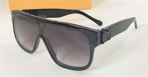 New fashion design sunglasses Z1258E square frame one-piece mirror outdoor protection avant-garde popular decorative glasses uv 400 glasses