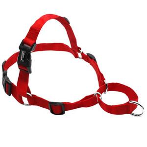 Não puxe harness de cão de nylon ajustável cão de animal de estimação colete para médio grande cães pitbull bulldog shepherd s- bbynbm