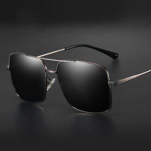 Lunettes de soleil Veithdia Veithdia Veithdia Mens Sunglasses 2020 Lentilles Conduite UV400 Square Vintage Sun Hommes pour lunettes 98015 RUVSC