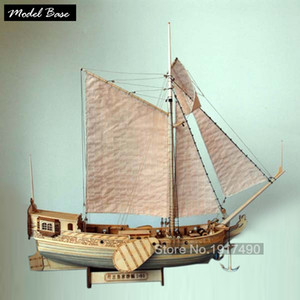 Ship Model Kit Train Hobby Wooden Ship Model 3d Laser Cut Scale 1 80 Royal Netherlands Yacht And Boats Diy Yacht Model Kits Y200428