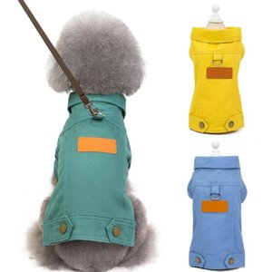 Teddy Cotton Casual Jacket Cowboy Cool Puppy T-shirt Dog Clothes Pet Clothing Small Dog Warm Winter Clothe Dog Coat Pupp bbyycp