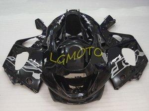 ABS carénages d'injection Pour tout noir YAMAHA YZF600R Thundercat 97-07 1997-2007 kits carrosserie moto Capots YZF 600R Carrosserie kit carénages
