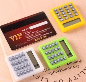 Cute Mini Student Exam Learning Essential Small Calculator Portable Color Multifunctional Small Square bbyWNm garden2010