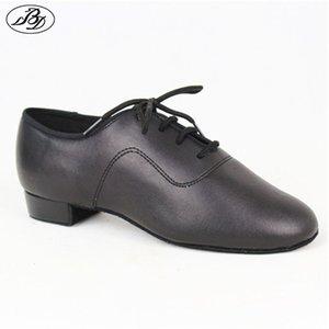 Boys Standard Dance Shoes BD702 Black Straight Dance Shoes Dancesport Shoes Ballroom Dance Shoe Waltz Tango Foxtrot Quickstep 201017