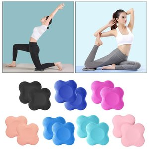 2pcs Nonslip Yoga Tapis de Yoga Knee Pad Fitness Plank Pilates Gym Square
