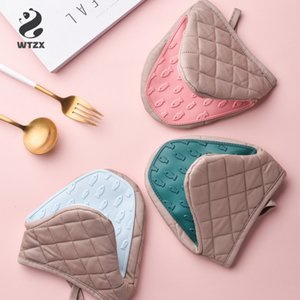 Silicone Anti-scalding Oven Gloves Mitts Potholder Kitchen Silicone Gloves Tray Dish Bowl Holder Oven Handschoen Hand Clip