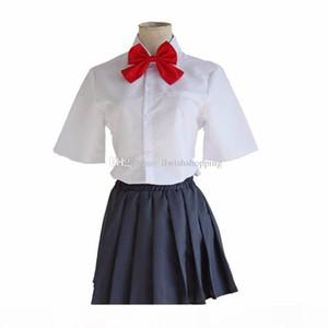 Kimi no Na wa Your Name Tachibana Taki and Miyamizu Mitsuha Cosplay Costume School Uniform Costume outfit