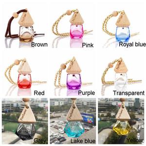 Essential Bottle Pendant Car Oil Diffuser 9 Perfume Colors Bag Clothes Ornaments Air Freshener Pendant Empty G