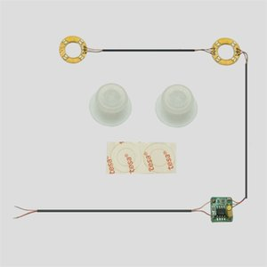 For PS4 wireless handle modified LED light board for XBOX ONE handle LED light board with transparent mushroom head