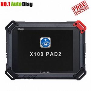 XTOOL X100 PAD2 programmatore chiave auto Pad 2 per la diagnosi, olio Azzerare il contachilometri, molte funzioni speciali Versione aggiornamento X100 PAD 0jLe #