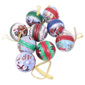 Children's Small Gift Bag Christmas Gifts Christmas Tree Pendant Cartoon Santa Gift Box Christmas balls Christmas Candy Jar