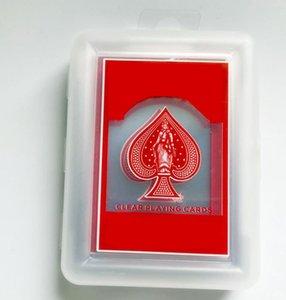 A-426 20FW اللعب بطاقات الصورة بوكر لعبة بوكر الطابق الذهب احباط تعيين البلاستيك بطاقة سحرية للماء بطاقات ماجيك