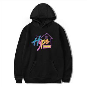 New 2020 The Hype House Hoodies Charli DAmelio Hooded Sweatshirts Men Women Print Addison Rae hoodies Adults children clothes
