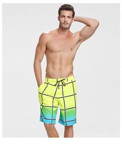 Calças de praia dos homens Casual Desportos de Verão Sport Five Minutes Big Shorts Tide Verão sete minutos solto casal rápido Homens Dry