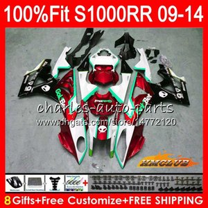 OEM Injection For BMW S1000-RR S-1000RR Body S1000 RR S 1000RR dark red new 2009 2010 2011 2012 2013 2014 5HC.59 S 1000 RR Body S1000RR 09 10 11 12 13 14 Fairing