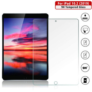 Tempered Glass Protective Film For 2020 iPad 10.2 Screen Protector Apple iPad 7th 8th Generation Screen Film Protection