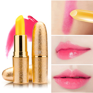 QIC Color-changing Nutritious Lip Balm Moisturizing Natural Lipstick Portable Hydrating Lip-care Lip-gloss for Women