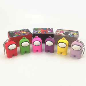 2021 Neue Amonq US Action Figuren Keychain Amonq US Key Ring 5 cm PVC Massive Puppe Spielzeug Nette Amonq US Key Ring Zubehör
