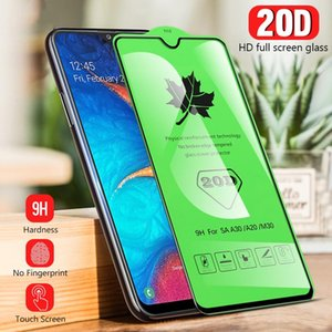 20D Full Screen Glue Tempered Glass HD Clear for Whole iPhone Series screen protector Film for Samsung HUAWEI OPPO VIVO XIAOMI Retail Pack