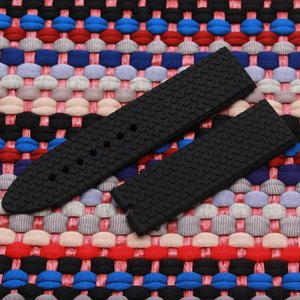 New Strap Fashionable Resin Rubber Silicone Strap Tire Pattern Special Size 23mm Waterproof Soft For Men's Watch Band