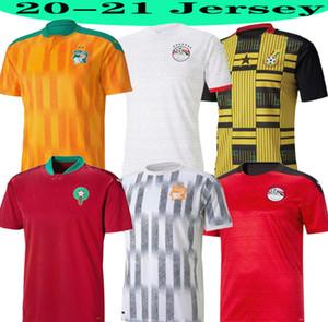 2020 년 2021 이집트 M.SALAH 10 살라 코트 디부 아르 가나 모로코 축구 유니폼 (20) (21) 홈 원정 저지 축구 셔츠