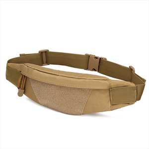 Military Men Assault Small Fanny Bag Motorcycle Riding Anti theft Purse High Quality Nylon Belt Hip Bum Chest Waist Pack Bag