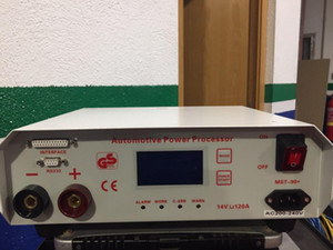 DHL Free MST-90+ battery voltage regulator & charger (14v 120A) for ecu coding power stabilizer 220V