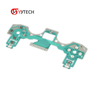 SYYTECH Free Shipping for PS4 wireless gamepad wiring gamepad Conductive Film membrane key for PS4 Repair Parts Replacement