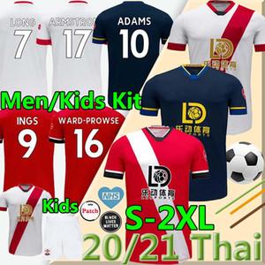 القديسين 2020 2021 داني إنغس كرة القدم جيرسي WARD-براوز 20 قميص 21 HOJBJERG كرة القدم طويل ADAMS الرجال والأطفال قميص REDMOND الزي الرسمي جيرسي