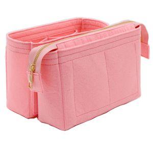 Fits for Neo Noe Insert Bags Organizer Makeup Handbag Organize Travel Inner Purse Portable Cosmetic Base Shaper for Neonoe C1223