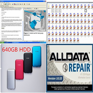 2020 heißen Verkauf Alldata 10.53 Repair Soft ware in 640 GB HDD USB3.0 Unterstützung Windows 7/8/10 / xp